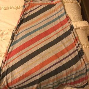 Maxi skirt fits like L